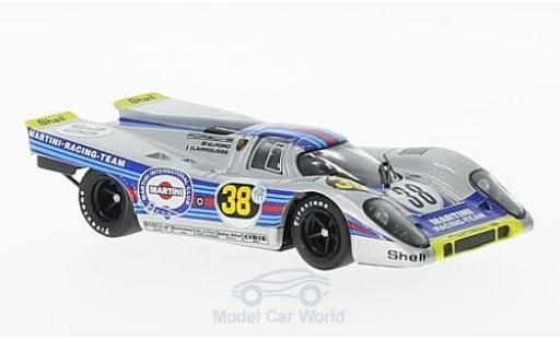 Porsche 917 1971 1/43 Brumm K No.38 Martini Racing Team Martini 1000 Km Buenos Aires V.Elford/G.Larrousse diecast model cars