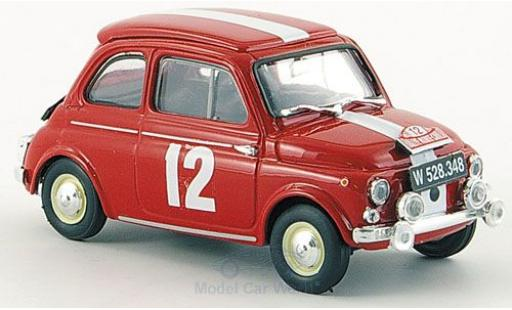 Steyr Puch 650 1/43 Brumm TR No.12 Rallye Monte-Carlo 1964 W.Roser/G.Tusch diecast model cars