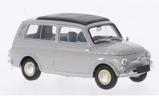 Steyr Puch 700 1/43 Brumm C grise 1961 toit rabattable fermé miniature
