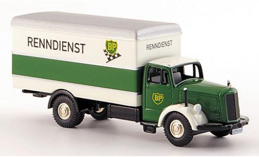 Mercedes L 6600 1/87 Bub BP-Renndienst wagon conteneur-Truck diecast model cars