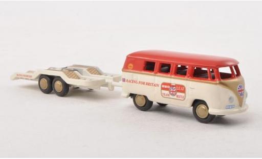 Volkswagen T1 1/87 Bub Bus avec remorque diecast model cars