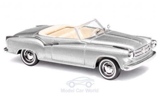Borgward Isabella 1/87 Busch Cabriolet grise 1958 miniature