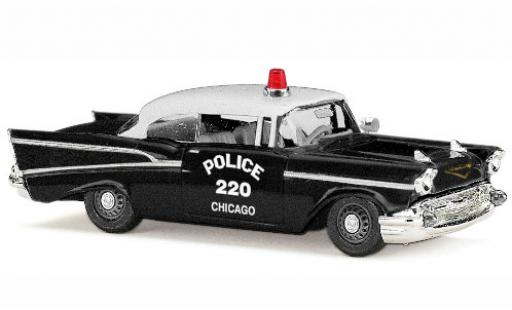 Chevrolet Bel Air 1/87 Busch Chicago Police 1957 diecast model cars