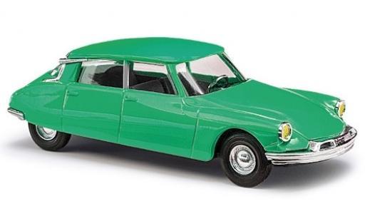 Citroen DS 1/87 Busch 19 verde 1955 avec jaune Scheinwerfern modellino in miniatura