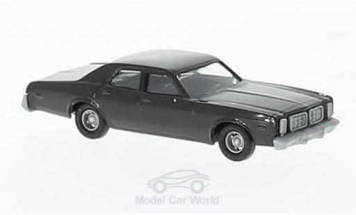 Dodge Monaco 1/87 Busch black 1976 diecast model cars