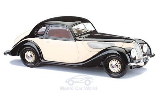 EMW 327 1/87 Busch Coupe beige/noire 1952 miniature
