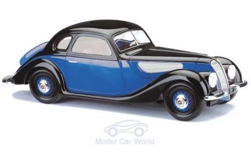 EMW 327 1/87 Busch Coupe bleue/noire 1952 miniature