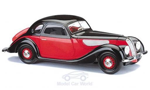 EMW 327 1/87 Busch Coupe rouge/noire 1952 miniature