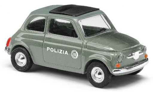 Fiat 500 1/87 Busch Polizia (IT) diecast model cars