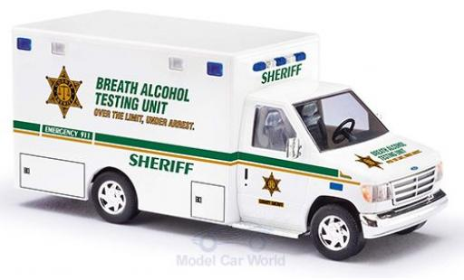 Ford E350 1/87 Busch E-350 Sheriff 1992 miniature