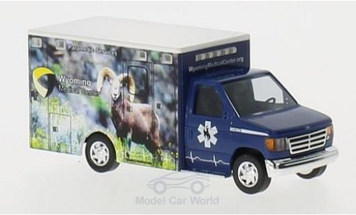 Ford E350 1/87 Busch E-350 Wyoming Medical Center miniature
