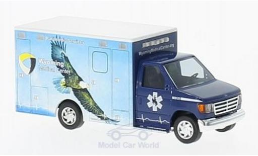 Ford E350 1/87 Busch E-350 Wyoming Medical Center 1992 Adler miniature