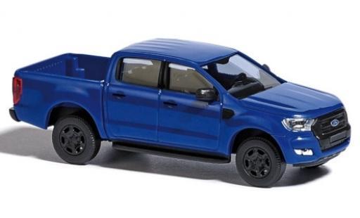 Ford Ranger 1/87 Busch bleue 2016 miniature