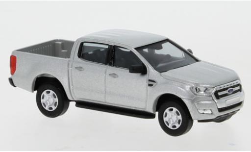 Ford Ranger 1/87 Busch DoKa grise 2016 miniature