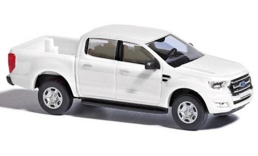Ford Ranger 1/87 Busch white 2016 diecast model cars