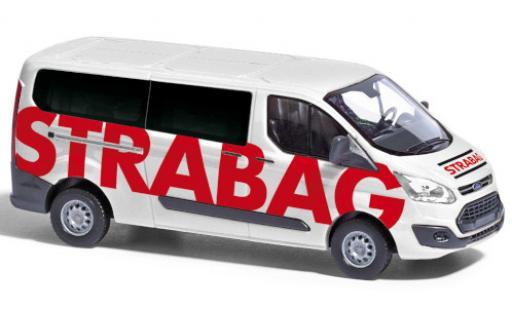 Ford Transit 1/87 Busch Custom Bus STRABAG 2012 miniature