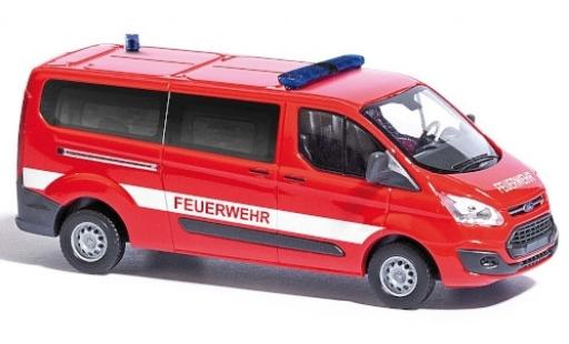 Ford Transit 1/87 Busch Custom Feuerwehr fourgon miniature
