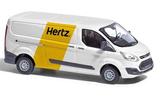 Ford Transit 1/87 Busch Custom Kasten Hertz Autovermietung 2012 diecast model cars
