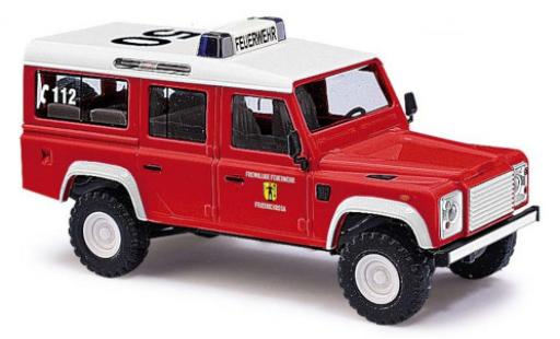 Land Rover Defender 1/87 Busch 110 Feuerwehr Friedrichroda 1983 miniature