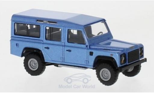 Land Rover Defender 1/87 Busch metallise bleue 1983 miniature