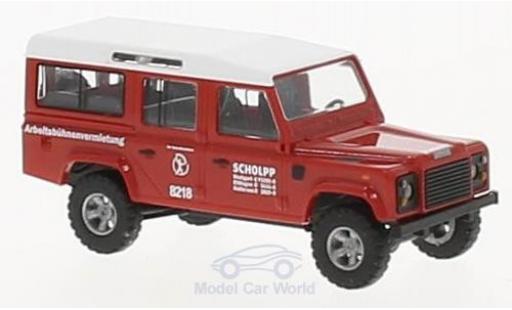 Land Rover Defender 1/87 Busch Scholpp 1983 miniature