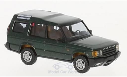 Land Rover Discovery 1/87 Busch verte 1998 miniature