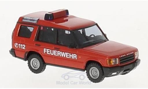 Land Rover Discovery 1/87 Busch Feuerwehr 1998 miniature
