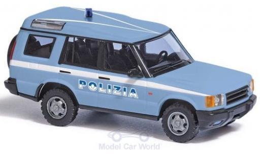 Land Rover Discovery 1/87 Busch Polizia 1998 miniature