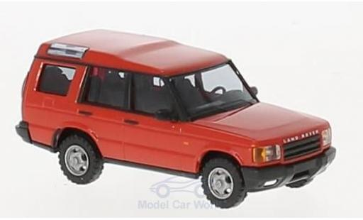 Land Rover Discovery 1/87 Busch rouge 1998 miniature