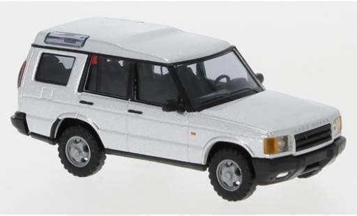 Land Rover Discovery 1/87 Busch grise miniature