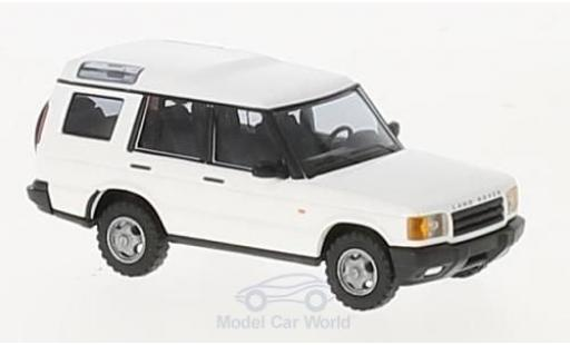 Land Rover Discovery 1/87 Busch blanche 1998 miniature