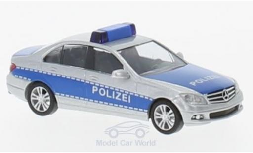 Mercedes Classe C 1/87 Busch Polizei 2007 diecast model cars
