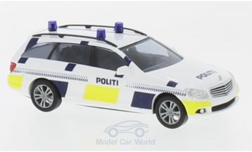 Mercedes Classe C 1/87 Busch T-Modell Politi miniatura