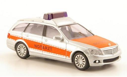 Mercedes Classe C 1/87 Busch T-Modell (S204) Notarzt diecast model cars