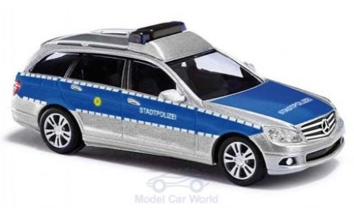 Mercedes Classe C 1/87 Busch T-Modell Stadtpolizei 2007 miniatura