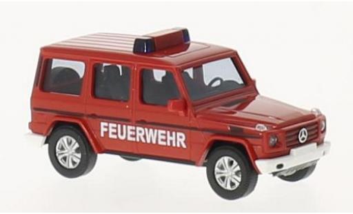 Mercedes Classe G 1/87 Busch Feuerwehr 2008 diecast model cars