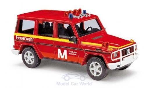 Mercedes Classe G 1/87 Busch Feuerwehr Flughafen München 1990 miniature