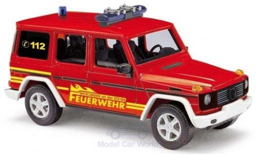 Mercedes Classe G 1/87 Busch Feuerwehr Geislingen 1990 miniatura