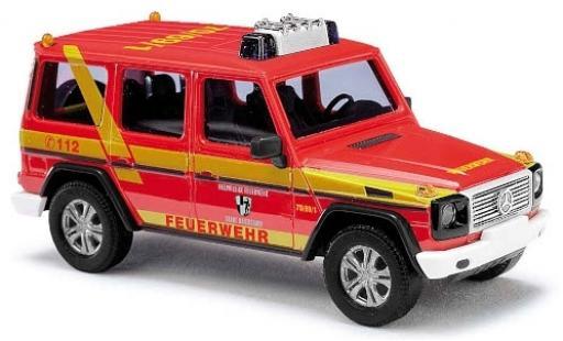 Mercedes Classe G 1/87 Busch Freiwillige Feuerwehr Baiersdorf 1990 diecast model cars
