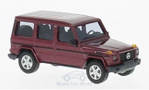 Mercedes Classe G 1/87 Busch metallise rouge 1990 miniature