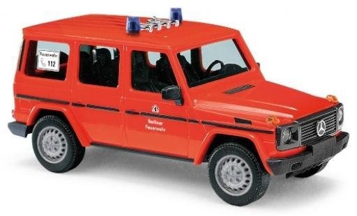 Mercedes Classe G 1/87 Busch (W461) Berliner Feuerwehr diecast model cars