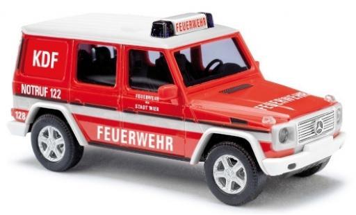 Mercedes Classe G 1/87 Busch (W461) Feuerwehr Wien (A) KDF diecast model cars