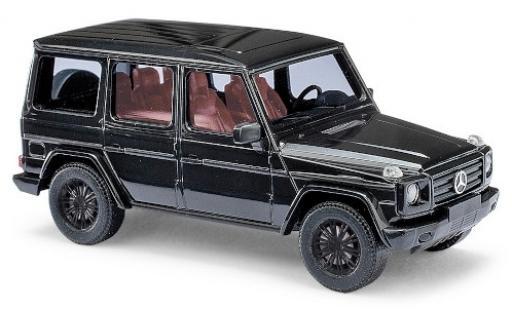 Mercedes Classe G 1/87 Busch (W463) metallise noire 2008 Black Edition miniature