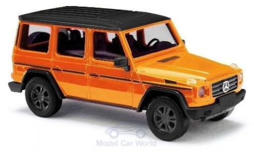 Mercedes Classe G 1/87 Busch (W463) orange/noire 2008 Tuning miniature