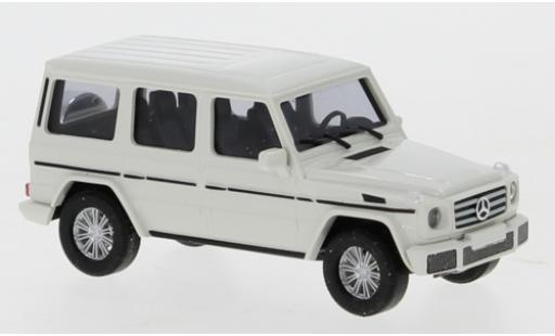 Mercedes Classe G 1/87 Busch (W463) blanche avec plus Stoßstange miniature