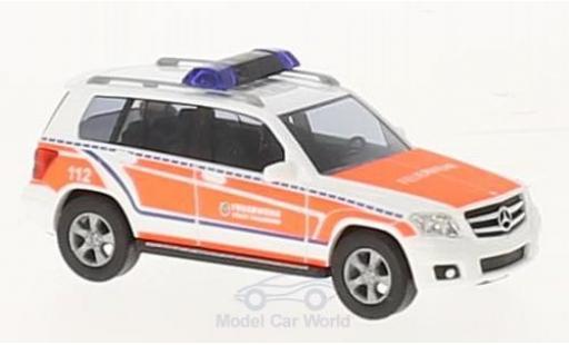 Mercedes Classe G 1/87 Busch GLK Klasse Feuerwehr Falkensee 2009 miniature