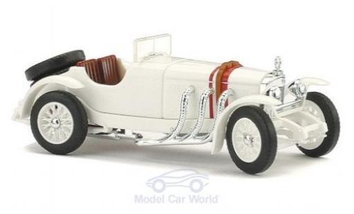 Mercedes SSK 1/87 Busch white 1928 diecast