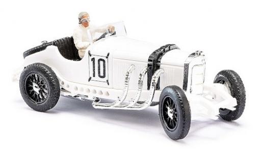 Mercedes SSK 1/87 Busch L No.10 Formel 1 GP Deutschland 1931 mit Figur H.Stuck diecast