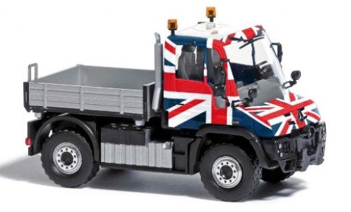 Mercedes Unimog 1/87 Busch U430 Union Jack 2013 diecast model cars