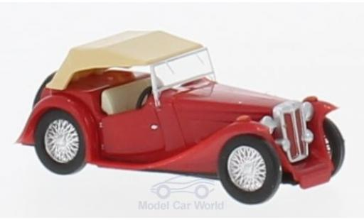 MG Midget 1/87 Busch TC rouge 1945 miniature